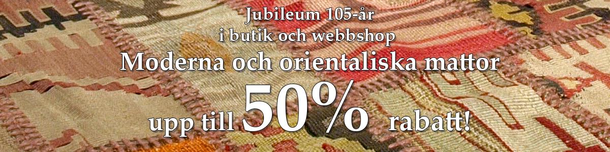Nessims jublileums banner 105år kelim