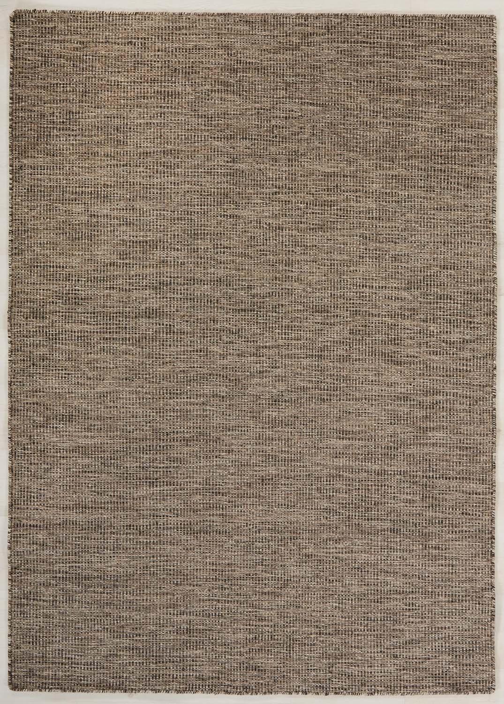 Afro stor modern handvävd brun svart tålig ullmatta lämplig till både soffa och mattbord