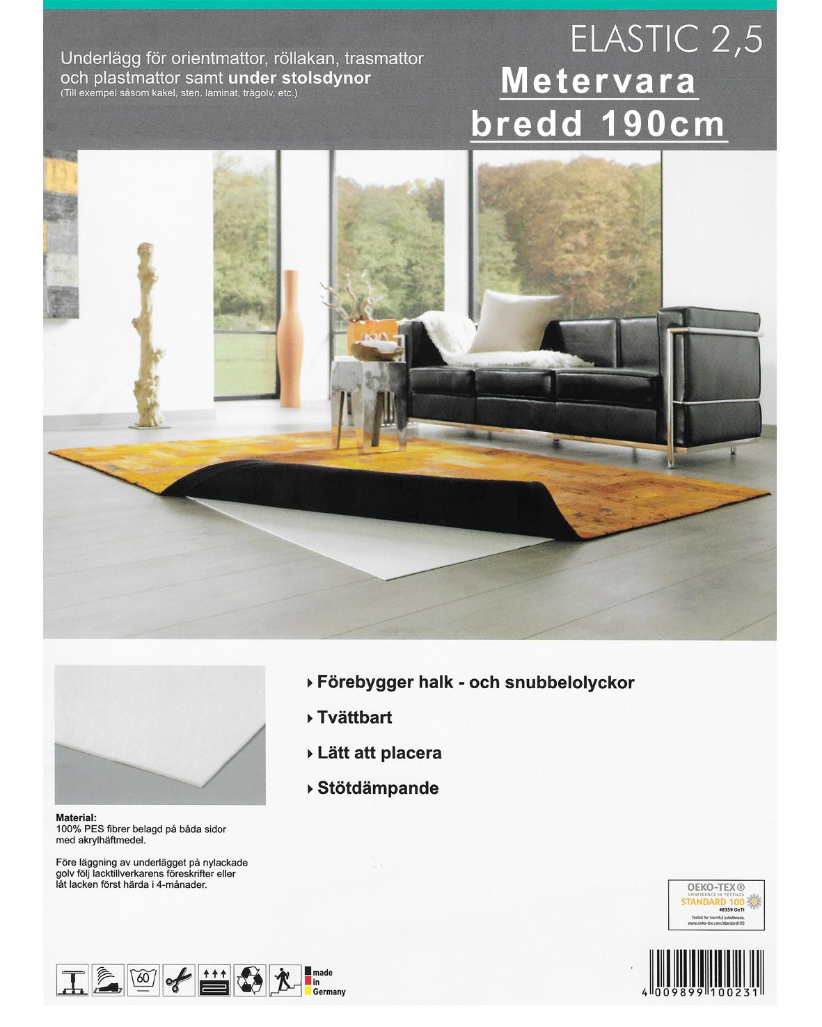 Underlägg AKO elastic för hårda golv 190cm