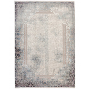 Erase modern orientalisk maskinvävd matta