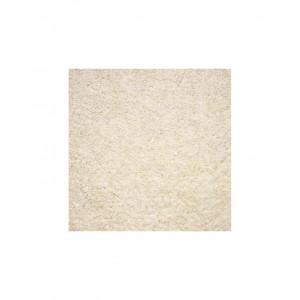 Glam velour vit 170 heltäckningsmatta med hög lugg